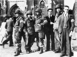 101st Airborne with the Dutch resistance – Eindhoven