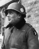 American General Anthony McAuliffe commander of the 101st