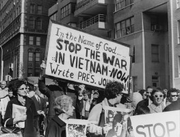 Protest Against The War In Vietnam