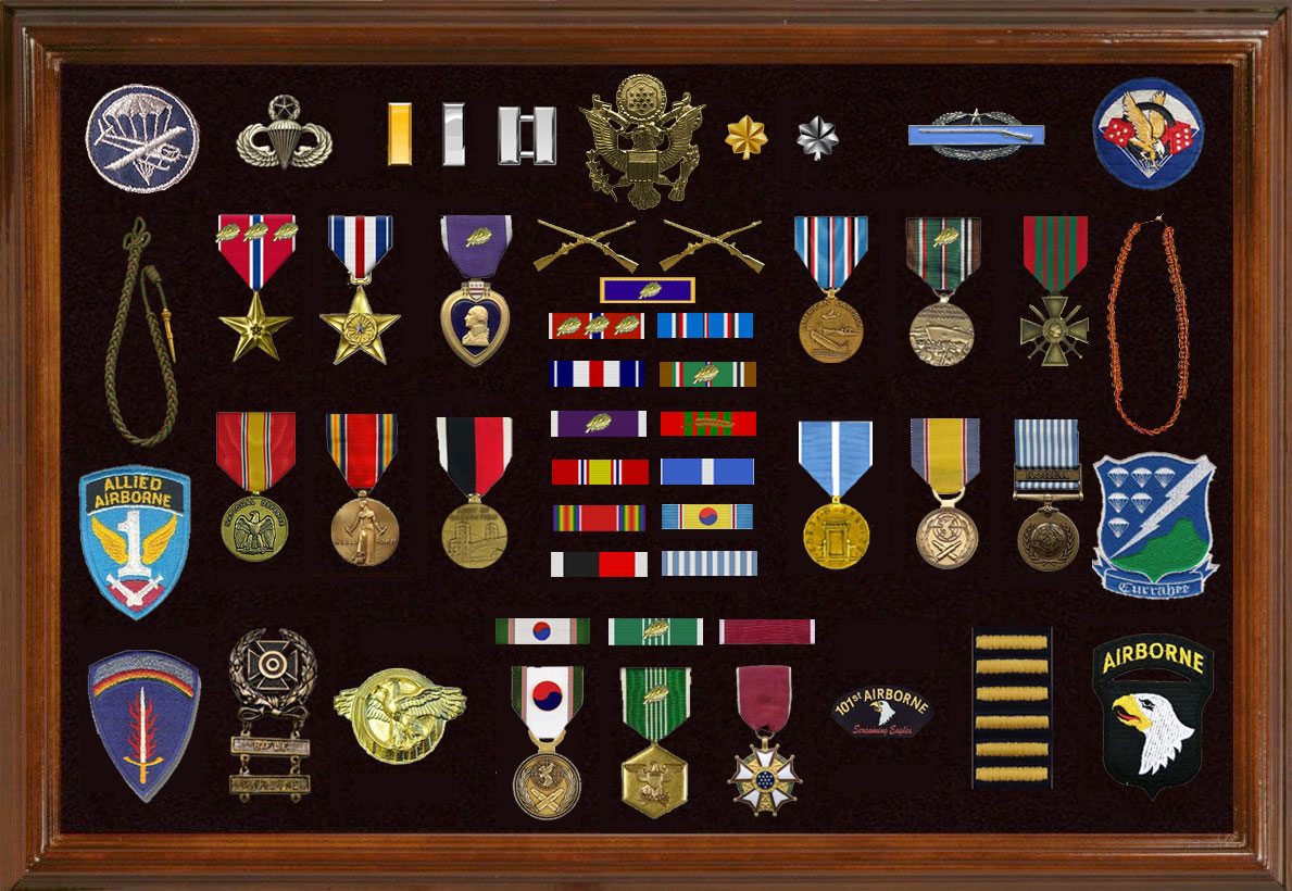 Citations medals decorations lieutenant colonel for Army awards and decoration